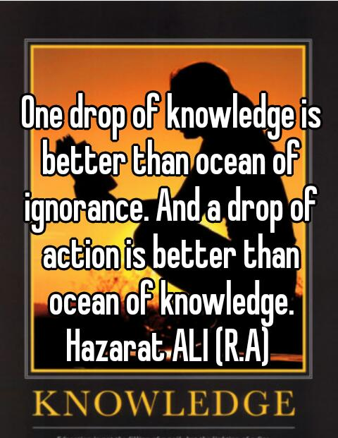 knowledge qoute