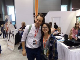 Hanging with David Levithan