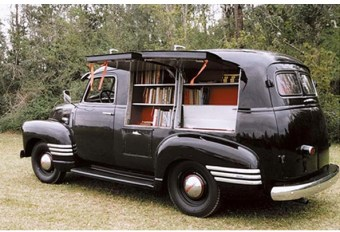 Happy National Bookmobile Day by Mind on Fire Books