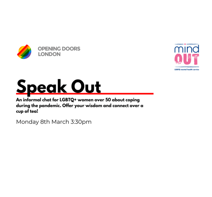 Speak Out event info