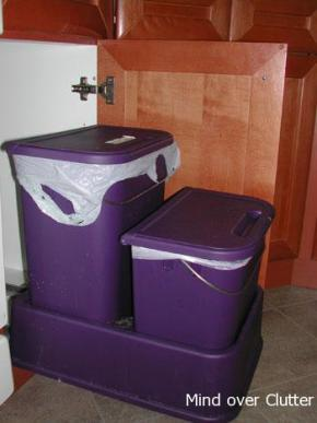 Roll out garbage and compost