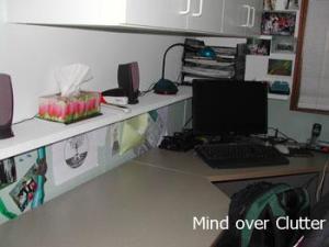 shelf over desk