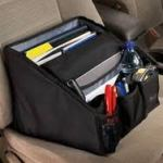 Portable office organizer for the car