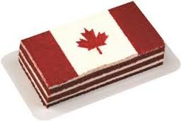 La Rocca Canada Day cake purchased at Sobeys