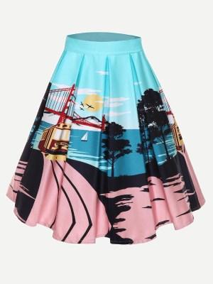 San Fran Circle Skirt