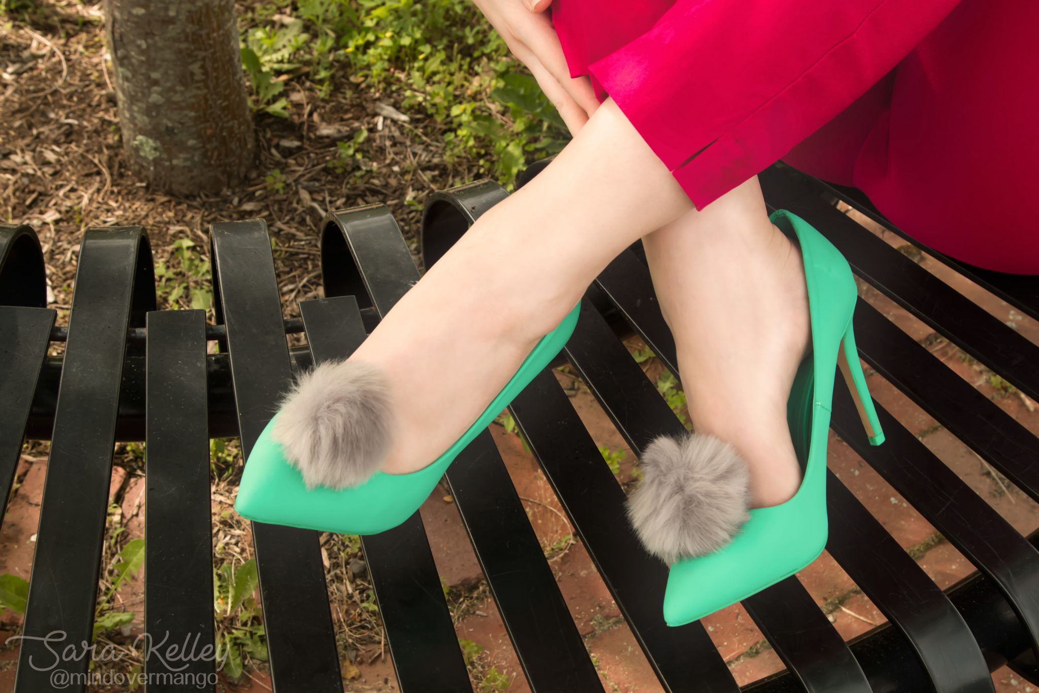 Mix. No 6 DSW Mint Green Heels