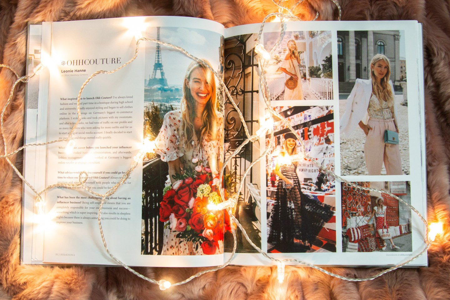 Like to Know it Book Leonie Hanne Ohh Couture