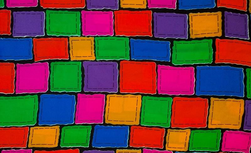 Mind Over Mango 1980 Vintage Color Block