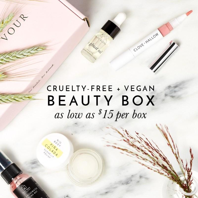 Buy Petit Vour Beauty Box for $15
