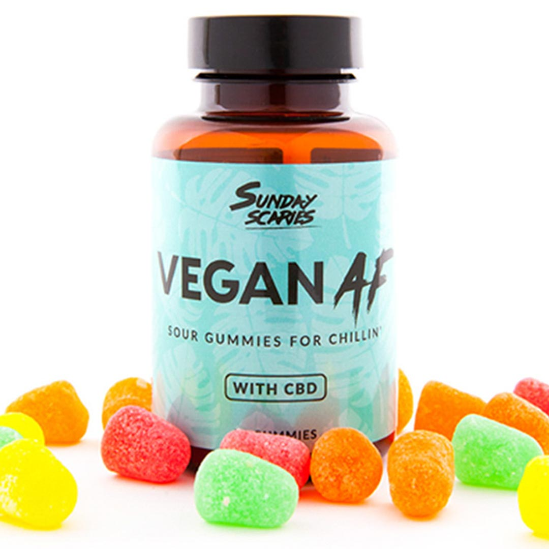 Sunday Scaries CBD Vegan Gummy Patch