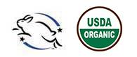 Leaping Bunny Organic USDA Certified