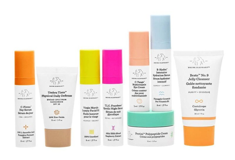 Drunk Elephant Travel Skin Care Essentials Bundle Valentine's Day Gift Guide