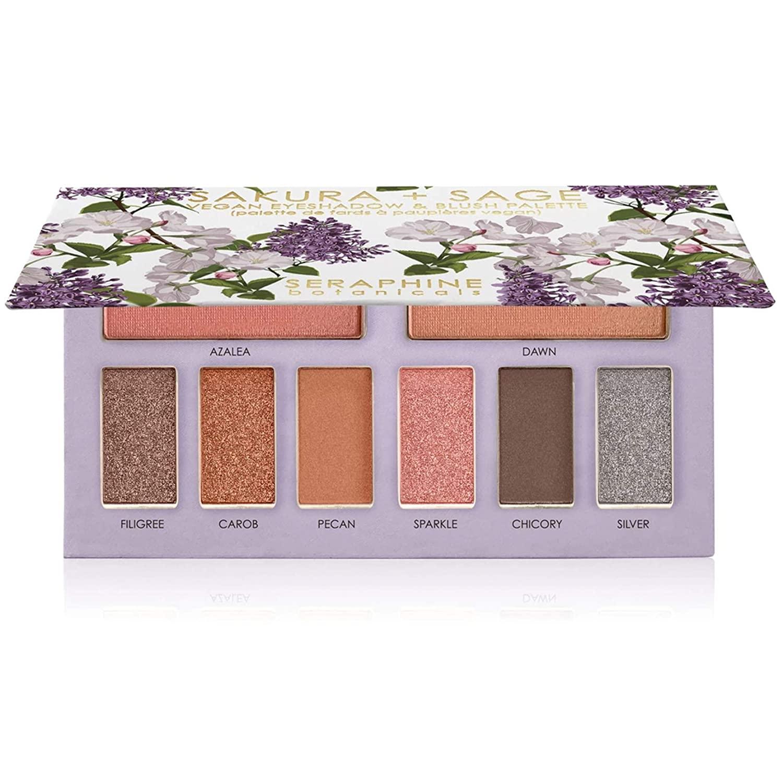 Seraphine Botanicals Sakura + Sage Eyeshadow Palette