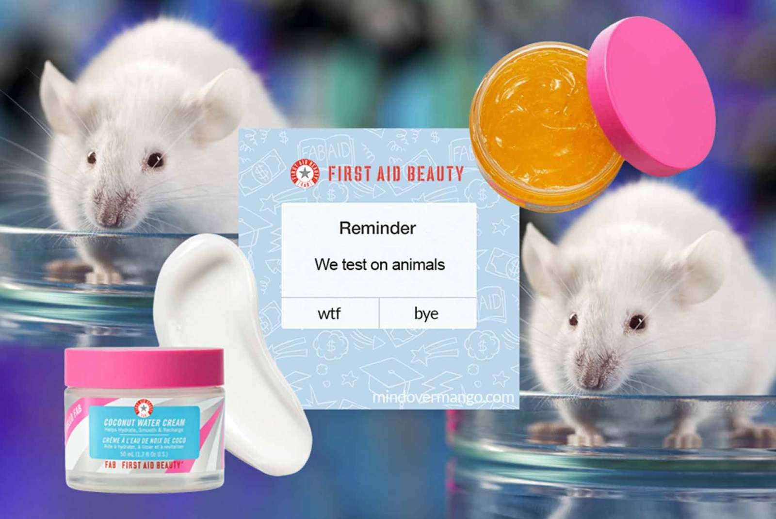 First Aid Beauty is NOT Cruelty-Free