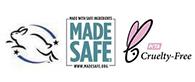Leaping Bunny Made Safe PETA Certified