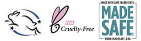 Leaping Bunny PETA Made Safe Certifications