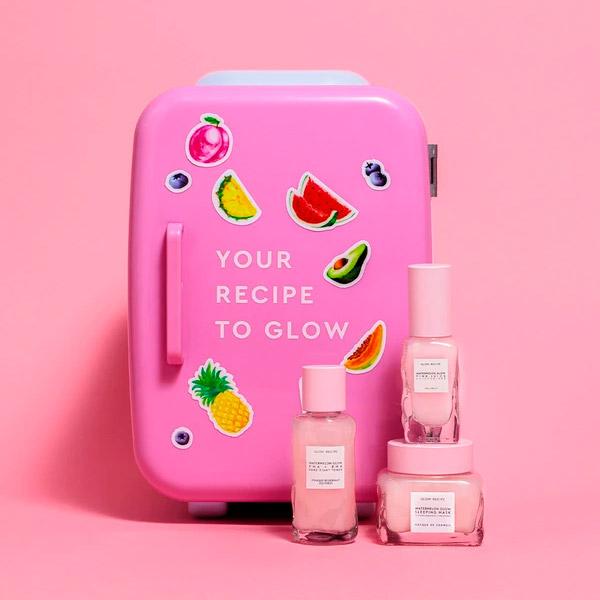 Makeup Fridge Glow Recipe Skincare Fridge