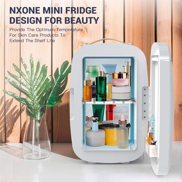 NXONE Mini Fridge 6 Liters Interior