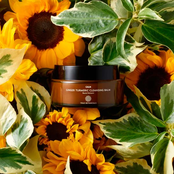 True Botanicals Ginger Turmeric Cleansing Balm Cruelty-Free Cleansing Balm