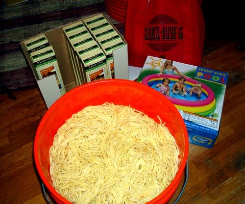 spaghetti wrestling recipe