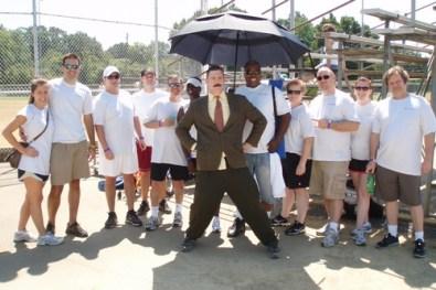 baker donelson team - casa kickball
