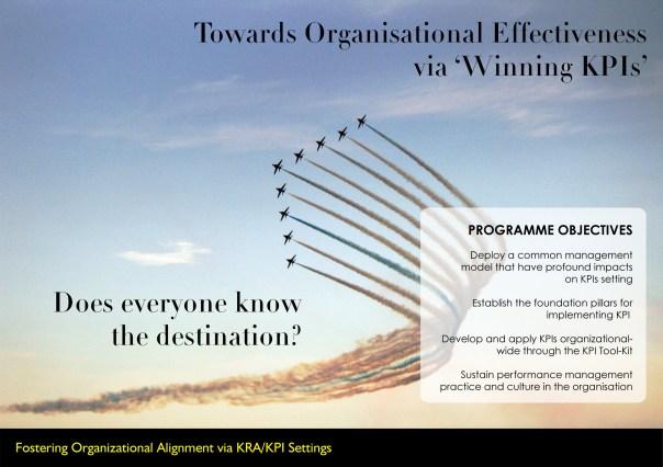 "Towards Organizational Effectiveness via ""Winning KPIs"""