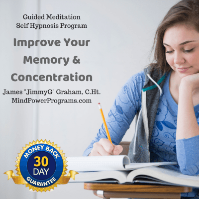 Improve Your Memory Concentration Guided Meditation Self Hypnosis MP3 program