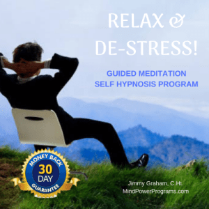 Relax & DeStress Guided Meditation Self Hypnosis MP3 Program