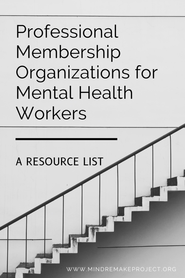 professional membership organizations