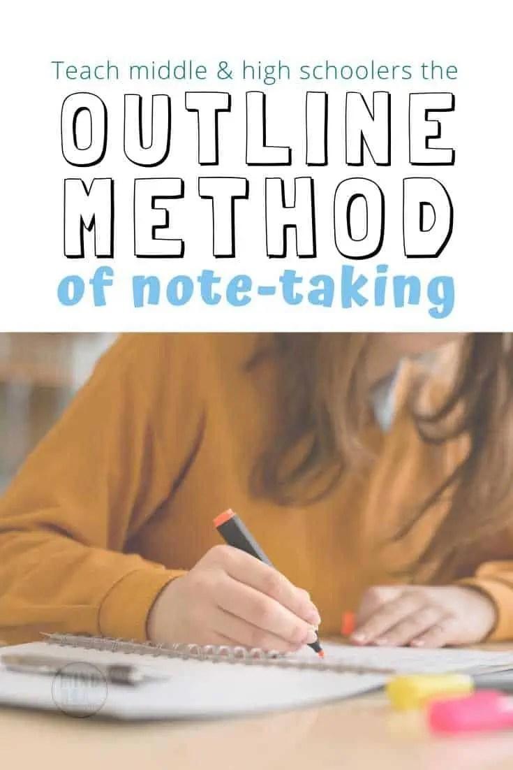 Outline method