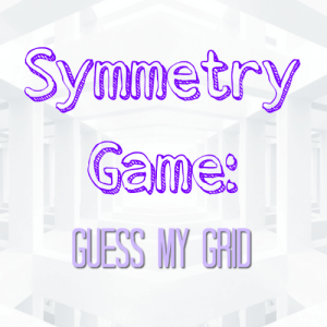 Symmetry Game: Guess my Grid