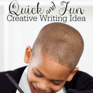 Quick and Fun Creative Writing Idea