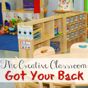 The Creative Classroom – Got Your Back