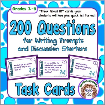 200 Questions for Writing Prompts and Discussion Starters