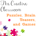 Are you looking to set up a creative classroom? This post shares ideas for bringing puzzles, brain teasers, and games into your classroom to encourage creativity and critical thinking. Click through to learn what puzzles, brain teasers, and games Rachel Lynette suggests!