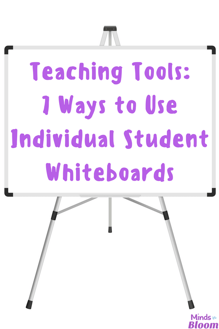 Individual student whiteboards provide tons of learning and engagement opportunities in the classroom. I'm sharing several of my favorite ways to use student whiteboard in this post, so click through to read more!