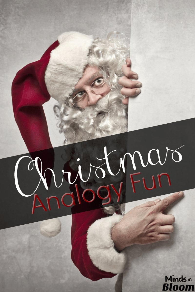 hight resolution of Christmas Analogy Fun - Minds in Bloom