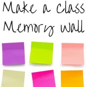 Make a Class Memory Wall
