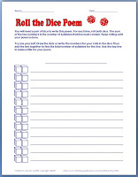 Write a Poem by Rolling Dice!