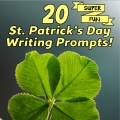 Find new and fun ways to get your kids writing by using these fun St. Patrick's Day-themed writing prompts. Your students will have fun writing while celebrating this holiday!