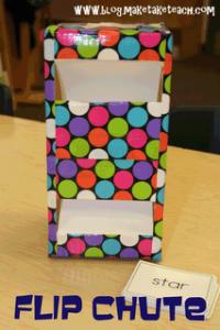Flip Chute for Task Cards!