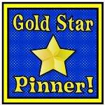 Gold Star Pinner