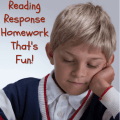 Every teacher has the same dilemma: trying to assign homework that's fun. As far as reading is concerned, our guest blogger has you covered with this post: She's sharing all about an interactive reading response homework strategy that she uses in her own classroom! Get all of the details and a freebie in this post!
