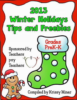 Rachel Lynette worked with other sellers on Teachers Pay Teachers to create this collection of free resources for the winter holidays. It's available in this post!