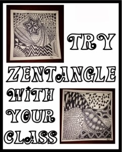 Try Zentangle with your Students