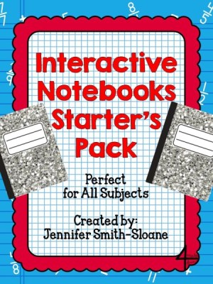 Interactive Notebooks Starter's Pack