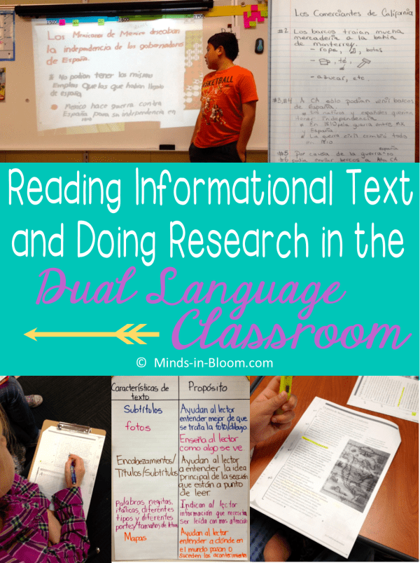 Reading Informational Text And In Dual