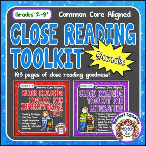 close reading for informational text and literature