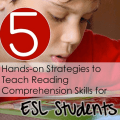 Reading comprehension for ESL students is critically important due to the language barriers these students have. This post outlines five hands-on reading comprehension strategies that will help your students grow their reading comprehension skills.