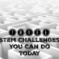 STEM challenges can feel daunting and intimidating. However, they're easier to set up and carry out than you think! Check out these three STEM challenges that use materials you likely already have in your classroom or school, and learn how to execute them without fuss or hassle.